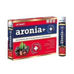 Optimed - Optimed Aronia+ Ekstraktı Çinko ve Selenyum İçeren Sıvı Takviye Edici Gıda 7 x 25 ml