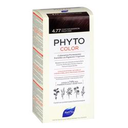 Phyto Saç Bakım - Phyto Phytocolor Bitkisel Saç Boyası - 4.77 Yoğun Kestane Bakır