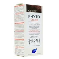 Phyto Saç Bakım - Phyto Phytocolor Bitkisel Saç Boyası 5.35 - Açık Kestane Dore Akaju Yeni Formül