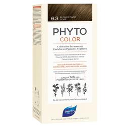 Phyto Saç Bakım - Phyto Phytocolor Bitkisel Saç Boyası - 6.3 Koyu Kumral Dore Yeni Formül