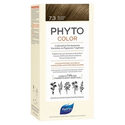 Phyto Saç Bakım - Phyto Phytocolor Bitkisel Saç Boyası 7.3 - Kumral Dore Yeni Formül