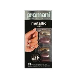 Promani - Promani Takma Tırnak Kiti Bronz - Sütlü Kahve