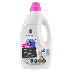 Purenn - Purenn Sensitive Kokusuz Sıvı Çamaşır Makinesi Deterjanı 1000 ml
