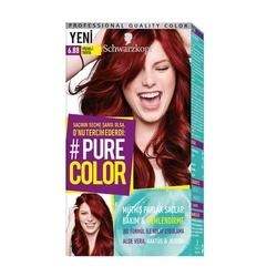 Schwarzkopf - Schwarzkopf Pure Color Saç Boyası 6.88 Vişneli Turta