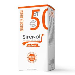 Sirenol - Sirenol Doğal Cadı Fındığı SPF 50 Mineral Güneş Kremi 60 ml