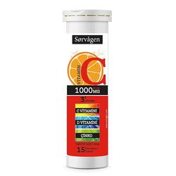 Sorvagen - Sorvagen Vitamin C Plus 1000 mg ( C Vitamini + D Vitamini + Çinko)