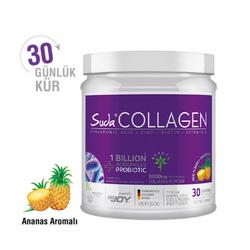 Suda Collagen - Suda Collagen + Probiyotik Ananas Aromalı Takviye Edici Gıda 300 g