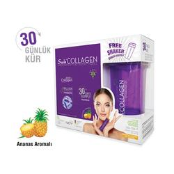 Suda Collagen - Suda Collagen Takviye Edici Gıda Ananas Aromalı 30 x 10 gr - Toz Saşe