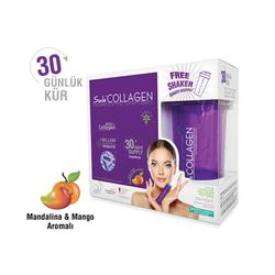Suda Collagen - Suda Collagen Takviye Edici Gıda Mandalina ve Mango Aromalı 30 x 10 gr - Toz Saşe