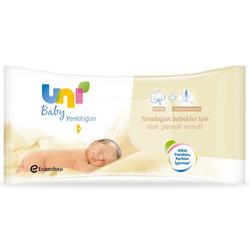 Uni Baby - Uni Baby Yenidoğan Islak Pamuk Mendil 40 Adet