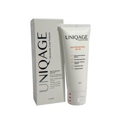 UNIQAGE - UNIQUAGE Karma ve Yağlı Ciltler için SPF 50 Güneş Koruyucu 75 ml