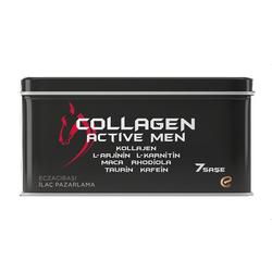 Voonka - Voonka Collagen Active Men 7 Şase Takviye Edici Gıda - Yeşil Elma Aromalı
