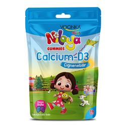 Voonka - Voonka Kids Niloya Gummies Calcium D3 Çiğnenebilir 30 Tablet - Meyve Sulu