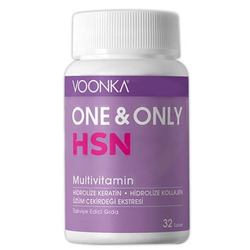 Voonka - Voonka One And Only HSN Multi̇vi̇tami̇n 32 Tablet