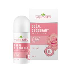 Yeşilmarka - Yeşil Marka Doğal Gül Kokulu Deodorant 50 ml