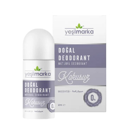 Yeşilmarka - Yeşil Marka Doğal Kokusuz Deodorant 50 ml