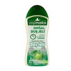 Yeşilmarka - Yeşilmarka Doğal Duş Jeli 400 ml - Elma