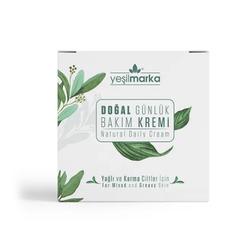 Yeşilmarka - Yeşilmarka Doğal Günlük Bakım Kremi 50 gr - Karma ve Yağlı Ciltler