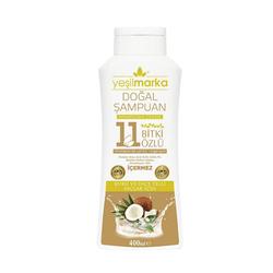 Yeşilmarka - Yeşilmarka Doğal Şampuan 400 ml - Kuru ve ince Telli Saçlar