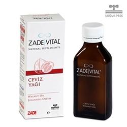 Zade Vital - Zade Vital Ceviz Yağı - Sıvı Cam Şişe 200 ml