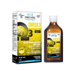 Zade Vital - Zade Vital Çocuklar İçin Limon Aromalı Premium Balık Yağı 200 ml