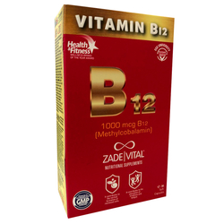 Zade Vital - Zade Vital Vitamin B12 30 Yumuşak Kapsül